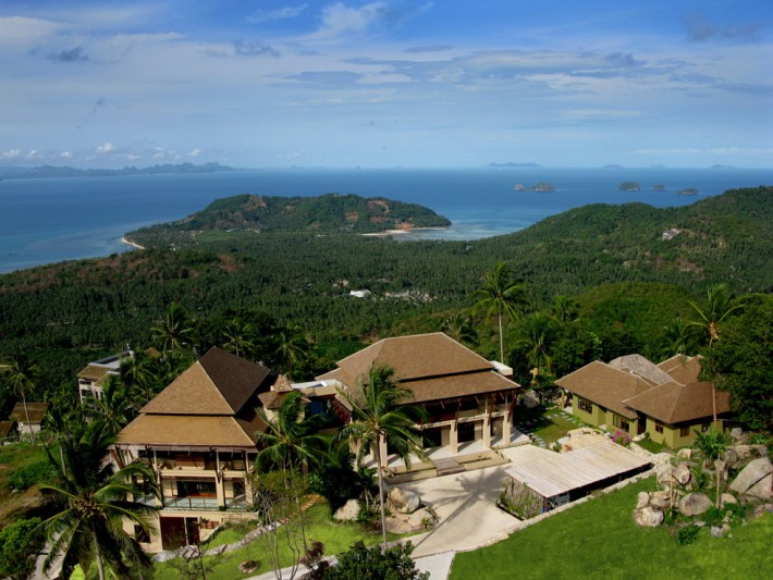 S028: MAGNIFICENT KOH SAMUI HILLSIDE ESTATE PROPERTY FOR SALE