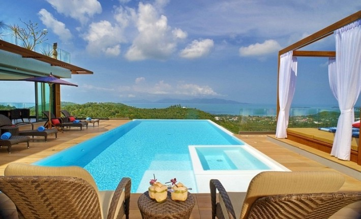 S488: KOH SAMUI VILLA FOR SALE WITH BREATHTAKING 180 VIEWS
