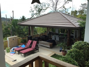 S904: SEA VIEW KOH SAMUI VILLA FOR SALE WALK TO THE BEACH