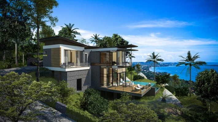 S866: TROPICAL MODERN VILLAS