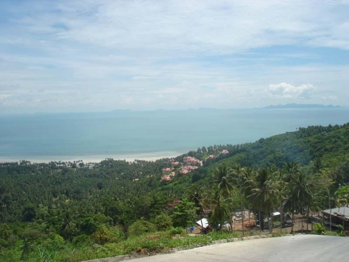S588: KOH SAMUI LAND FOR SALE WITH EXCEPTIONAL SEA VIEWS
