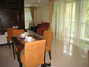 S169: 3 BED KOH SAMUI APARTMENT IN RESORT FOR RENT