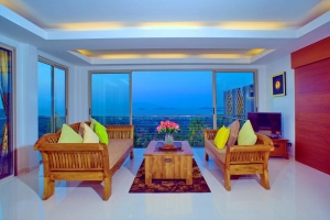 S723: SPACIOUS 12 BEDROOM SEA VIEW KOH SAMUI VILLA FOR SALE & RENT