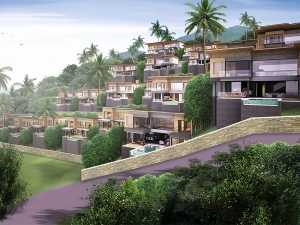 S796: KOH SAMUI VILLAS FOR SALE WITH 6% GUARANTEED RENTAL RETURN FOR 5 YEARS