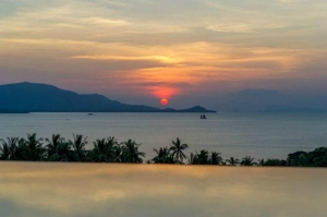 S1368: KOH SAMUI SEA VIEW VILLA NEAR THE BEACH FOR SALE