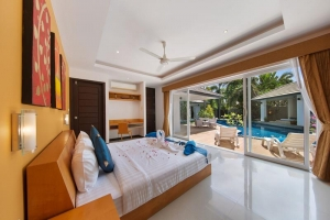 S1402: BEACHSIDE KOH SAMUI VILLA FOR RENT