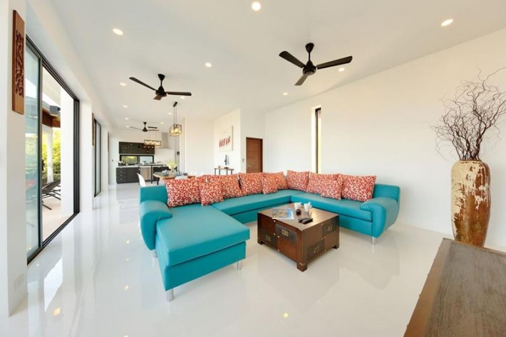 KOH SAMUI PROPERTY - ADJOINING SEA VIEW VILLAS FOR RENT