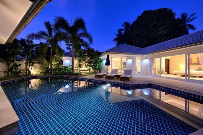 S1108: KOH SAMUI POOL VILLAS CLOSE TO THE BEACH FOR RENT