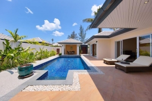 S1397: POOL VILLA BY THE BEACH