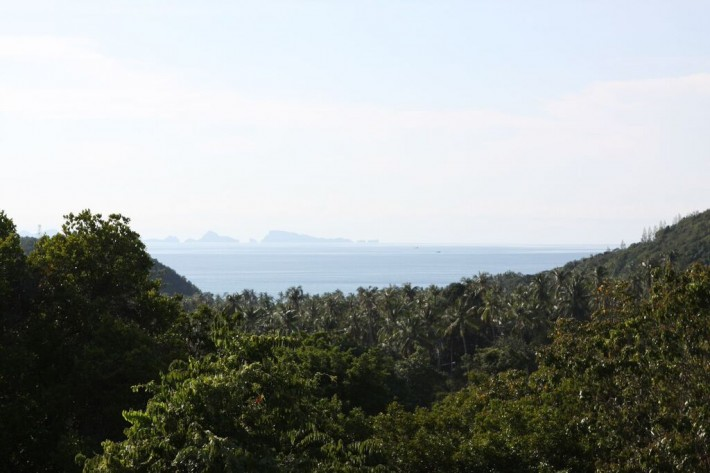 S589: 10 RAI SEA VIEW KOH SAMUI LAND PLOT FOR SALE