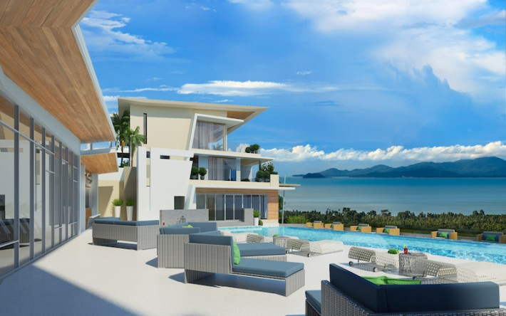 S1530: LUXURY SEA VIEW KOH SAMUI APARTMENT FOR SALE
