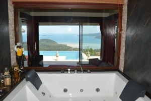 Koh Samui Property - Jacuzzi with pool and ocean v