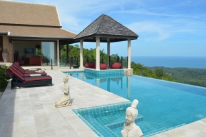 S1281: KOH SAMUI VILLA FOR SALE WITH STUNNING VIEWS