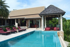 Koh Samui Property - Pool with Sala