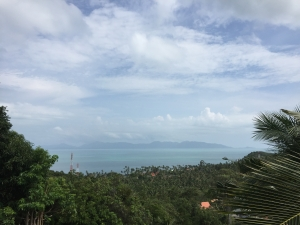 S994: KOH SAMUI LAND PLOT FOR SALE WITH SEA & KOH PHANGAN VIEWS