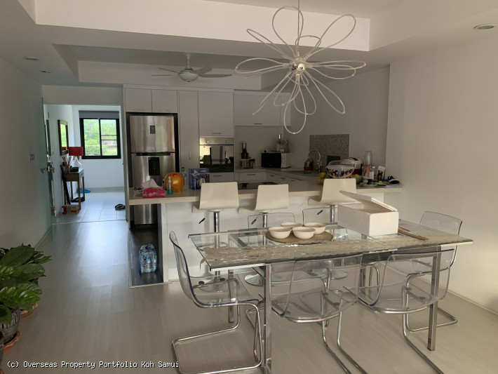 S1878: FULLY RENOVATED KOH SAMUI OFFICE & APARTMENT FOR SALE