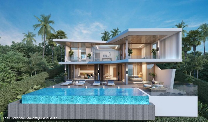 S1767: EXPANSIVE KOH SAMUI VILLA FOR SALE WITH STUNNING VIEWS