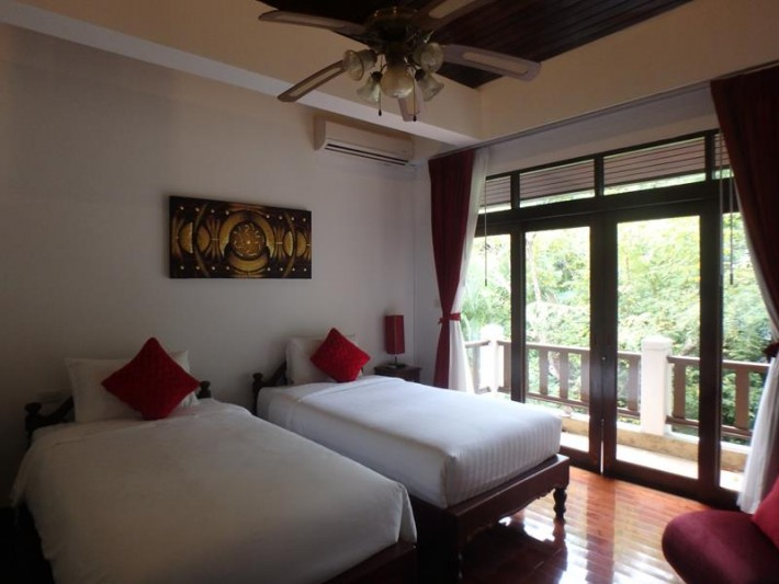S1352: SEA VIEW KOH SAMUI VILLA FOR RENT IN PEACEFUL AREA
