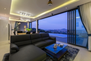 S1513: KOH SAMUI VILLA FOR SALE & RENT WITH STUNNING 180 DEGREE SEA VIEWS