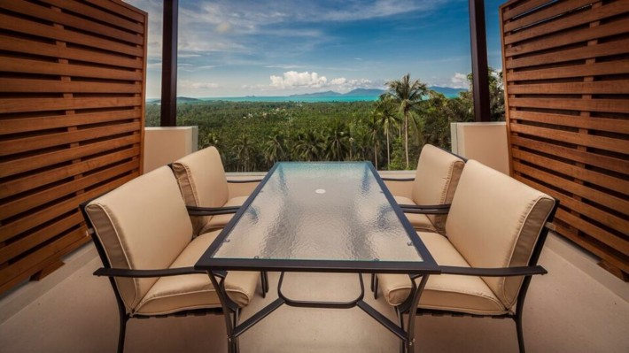 S1529: SEA VIEW FREEHOLD LUXURY KOH SAMUI APARTMENT FOR SALE