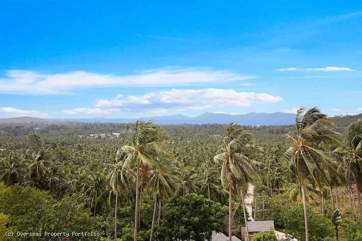 S1545: KOH SAMUI PENTHOUSE FOR SALE WITH PANORAMIC VIEWS