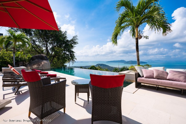 S1548: STUNNING KOH SAMUI VILLA FOR SALE WITH PANORAMIC VIEWS
