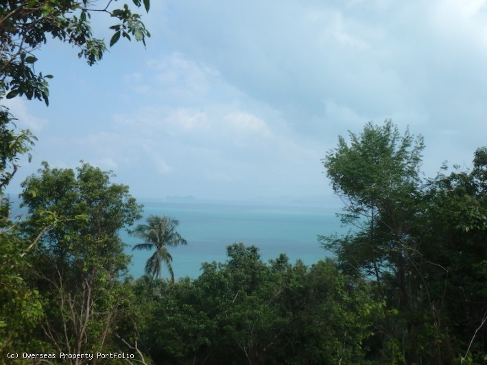 S1567: 5 RAI KOH SAMUI SEA VIEW LAND PLOT FOR SALE