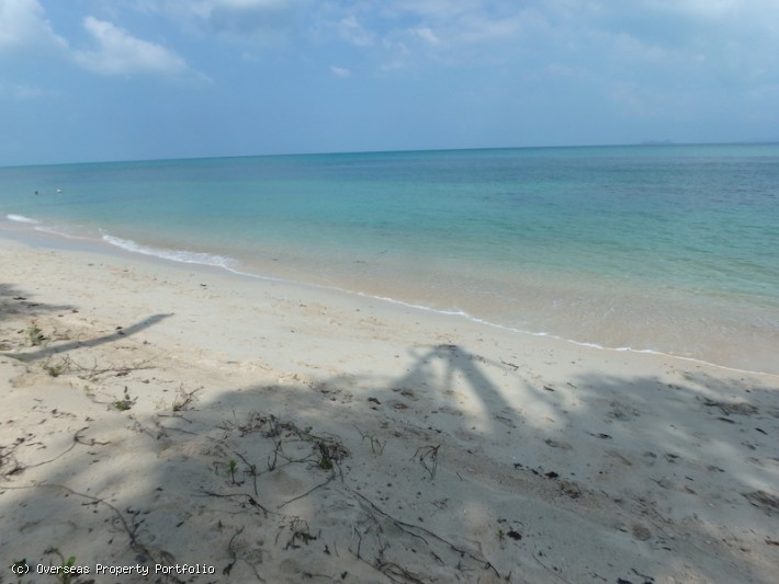 S1568: 8 RAI KOH SAMUI BEACHFRONT LAND FOR SALE