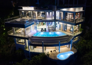 S1575: LUXURY KOH SAMUI VILLA FOR SALE WITH 180 DEGREES VIEW