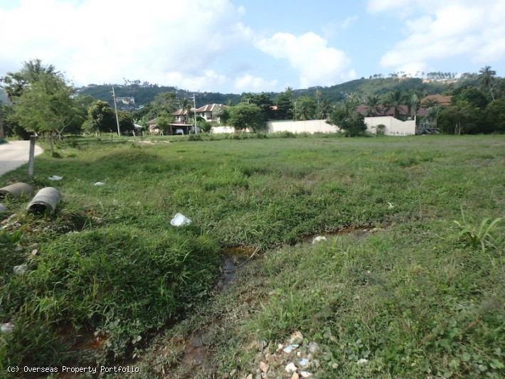 S1581: 1.72 RAI KOH SAMUI LAND PLOT FOR SALE IN CENTRAL LOCATION