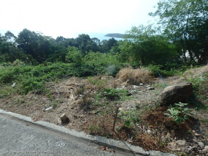 S1582: KOH SAMUI LAND PLOT FOR SALE WITH PANORAMIC SEA VIEWS