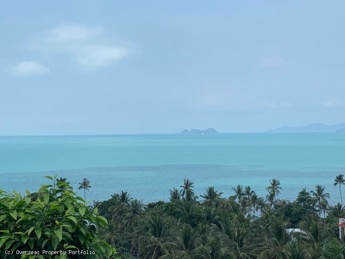 S1593: KOH SAMUI LAND FOR SALE WITH SEA VIEWS