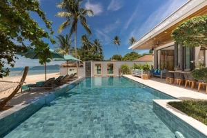 S1596: TWO LUXURY BEACHFRONT VILLAS FOR DISCERNING INVESTORS
