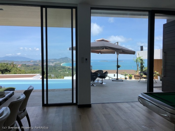 S1607: KOH SAMUI VILLA WITH AMAZING SEA VIEWS FOR SALE & RENTAL