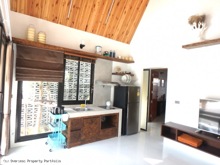 S1609: KOH SAMUI POOL VILLA FOR RENT IN QUIET LOCATION