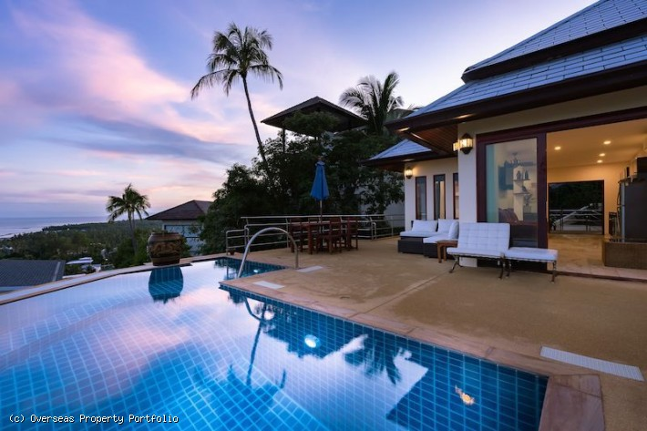 S1612: KOH SAMUI VILLA AND APARTMENT WITH SEA VIEWS
