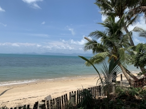 S1628: 1 RAI BEACHFRONT KOH SAMUI LAND PLOT FOR SALE