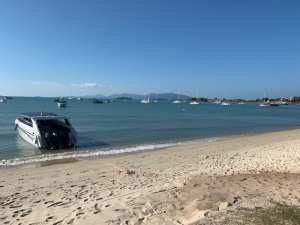 S1632: 2.77 RAI BEACHFRONT KOH SAMUI LAND PLOT FOR SALE