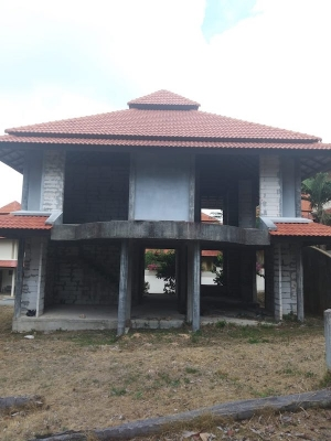 S1643: RENOVATION PROJECT - UNFINISHED KOH SAMUI VILLA CLOSE TO THE BEACH