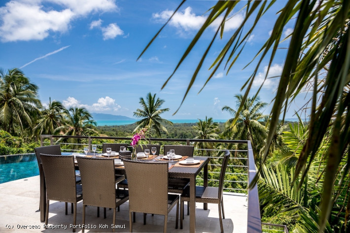 S163: KOH SAMUI VILLA FOR SALE & RENTAL IN A PEACEFUL LOCATION