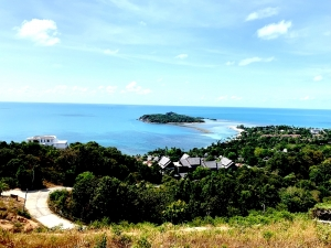 S1640: KOH SAMUI LAND PLOT FOR SALE WITH STUNNING SEA VIEWS