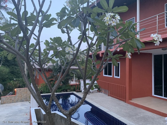 S1645: 22 BED BOUTIQUE SEA VIEW KOH SAMUI HOTEL IN PRIME LOCATION FOR SALE