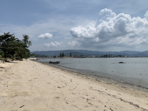 S1651: KOH SAMUI BEACHFRONT LAND PLOT FOR SALE IN PRIME LOCATION