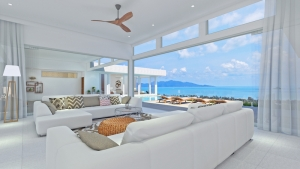 S1658: EXTENSIVE KOH SAMUI VILLA FOR SALE WITH AMAZING SEA VIEWS