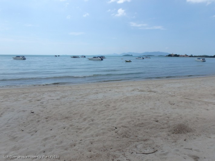 S1675: 2.5 RAI BEACHFRONT KOH SAMUI LAND FOR SALE