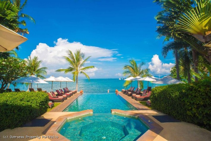 S1676: KOH SAMUI BEACHFRONT VILLAS AND RESORT FOR SALE
