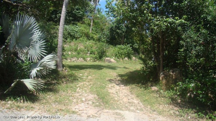 S1689: KOH SAMUI LAND PLOT FOR SALE WITH STUNNING SEA VIEWS