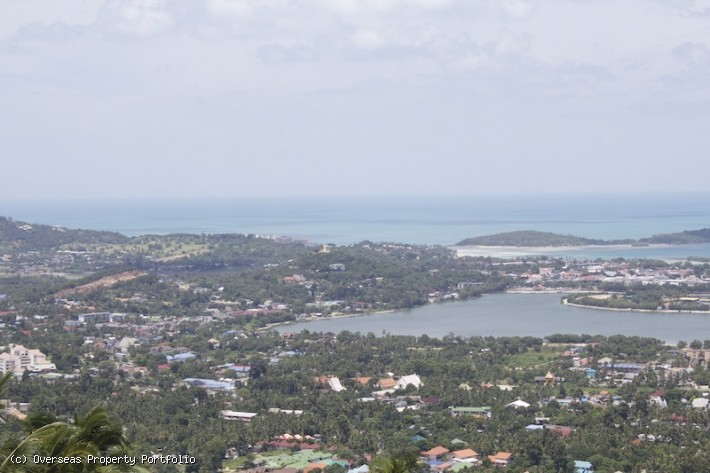 S1713: 2 RAI SEA VIEW KOH SAMUI LAND FOR SALE WITH PROJECT PLANS - BUSINESS OPPORTUNITY