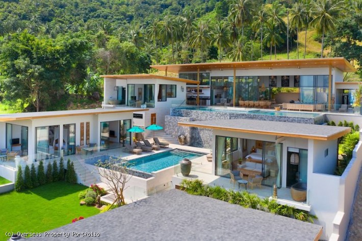 S1733: PALATIAL KOH SAMUI VILLA FOR SALE WITH STUNNING SEA VIEWS