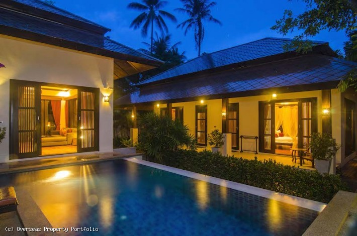 S1757: TWO BEDROOM KOH SAMUI POOL VILLA FOR RENT
